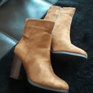 Tan High boots